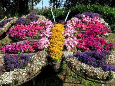 Многомерные цветники