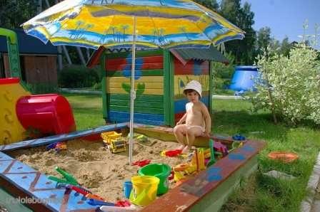Какому ребенку не нравиться играться с песком?