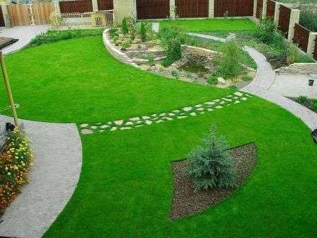 Газоном называют травяной ковер из специально подобранных трав.