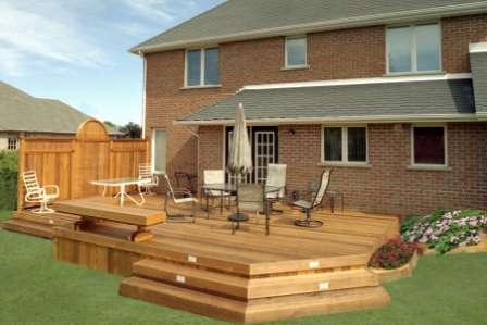 Проекты загородных домов в южных регионах чаще всего включают террасы.