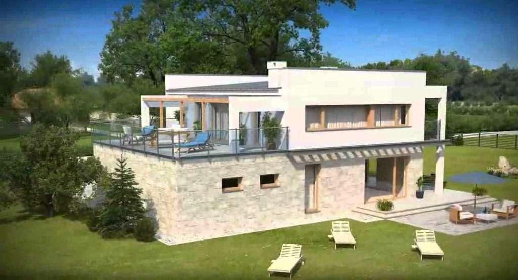 Округлые террасы и веранды привнесут изюминку практически в любое загородное строение.