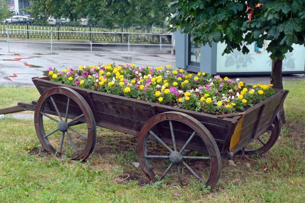 как сделать красивый сад своими руками