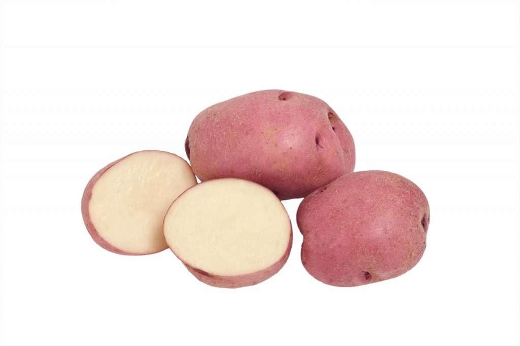 сорт картофеля кожура красная мякоть желтая