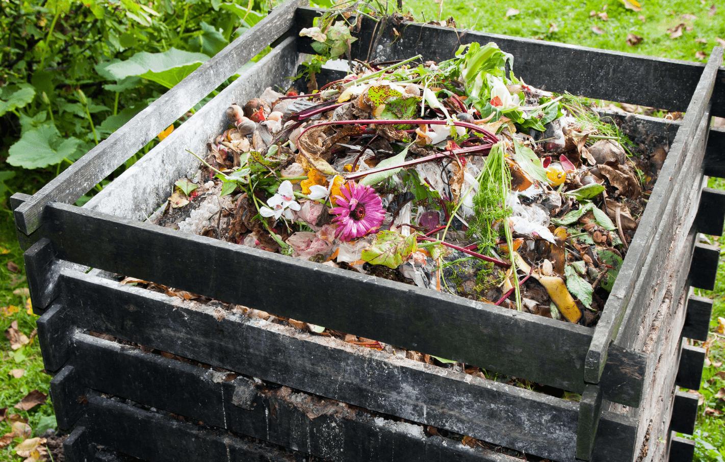 место для компостной ямы