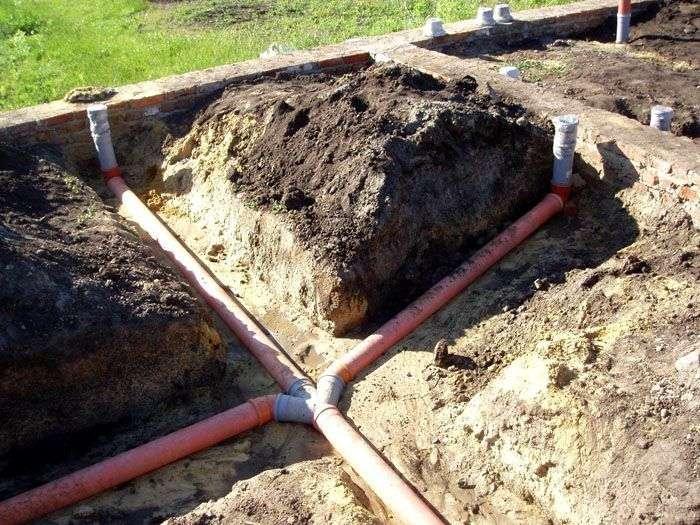 проложить канализацию в частном доме своими руками